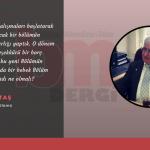Prof. Dr. Ziya Aktaş'ın 40. Yıl Mesajı