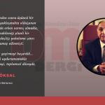 Prof. Dr. Aydın Köksal'ın Bilgisayar Mühendisleri Kurultayı Mesajı